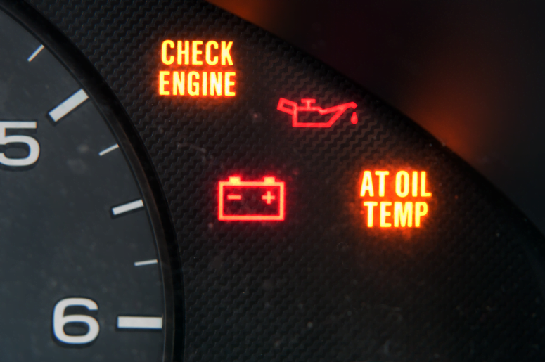 "Your vehicle's ""Check Engine"" light is there to let you know when there's something wrong with your engine."