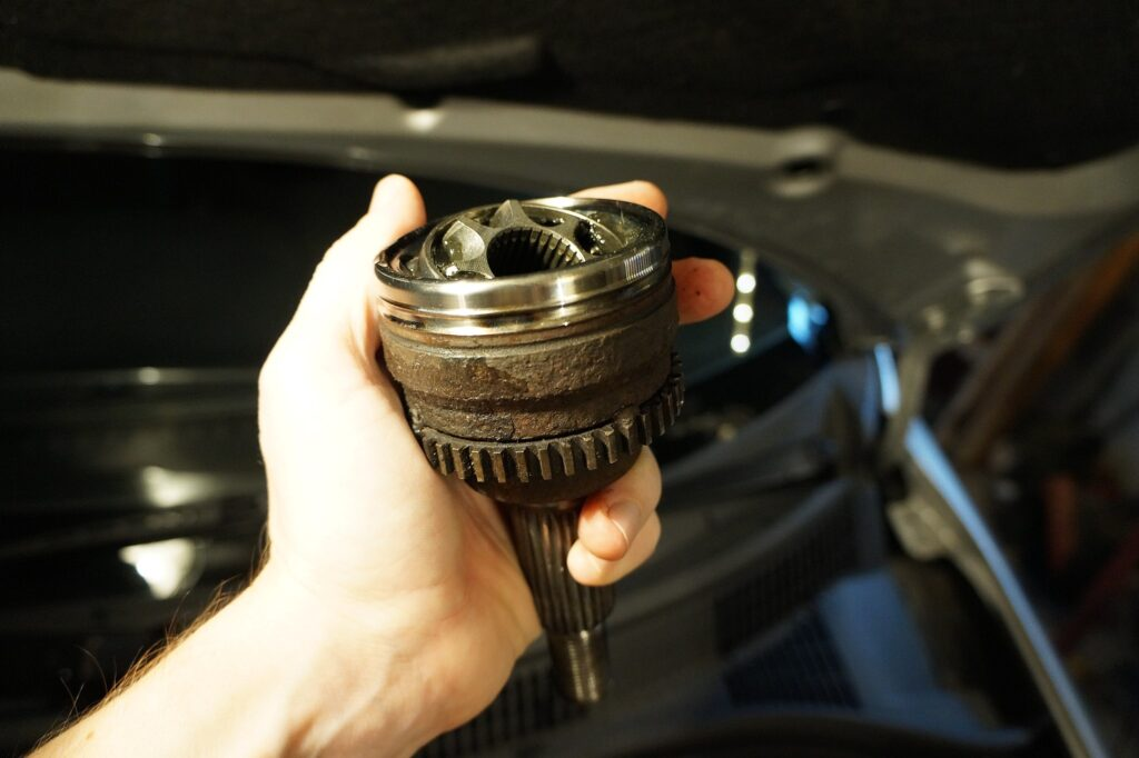 A bad CV joint can cause to cars squeal